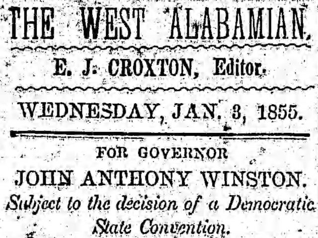 Patron – Slaves for sale and new grocery open in Pickens County in 1855