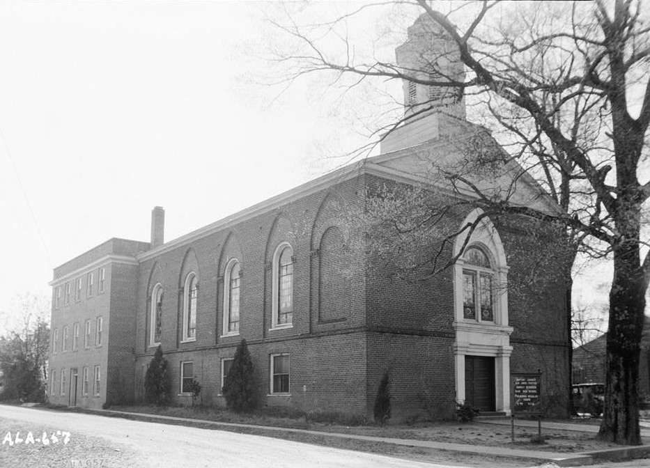 History of Wetumpka First Baptist Church, Elmore County, Alabama