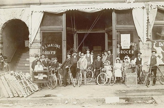 PATRON – In 1921, The Birmingham News gave away 1,000 bicycles to children