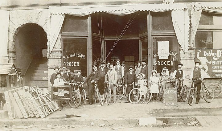 PATRON - In 1921, The Birmingham News gave away 1,000 bicycles to children