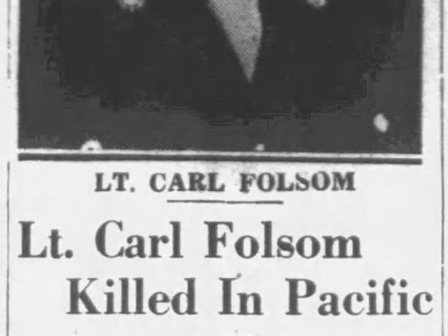 PATRON + Clippings About Folsom, Terry, Hicks, Price, Knizley, – 1945