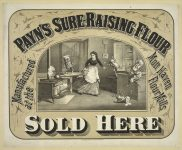 Patron+ GOOD OLE DAYS – Mixing paste for wallpaper hanging – 1894 recipe