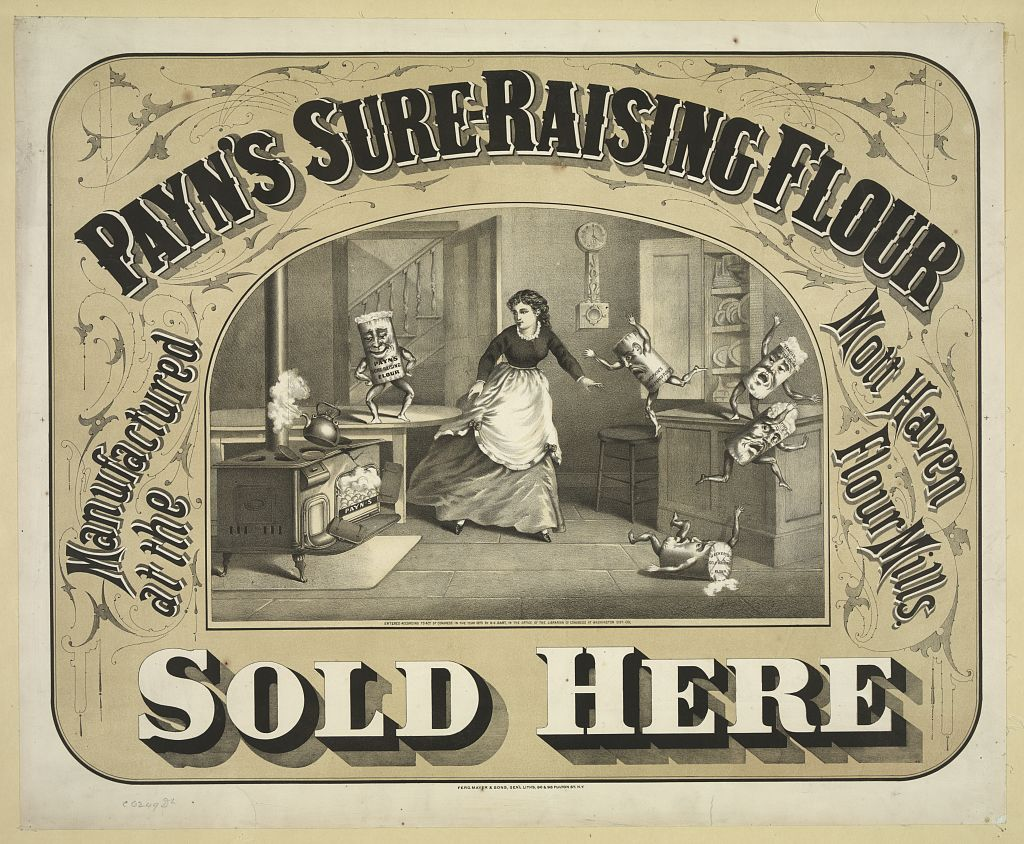 Patron+ GOOD OLE DAYS – Mixing paste for wallpaper hanging - 1894 recipe