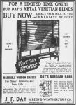 GOOD OLE DAYS -Venetian Blinds – How did you clean them?