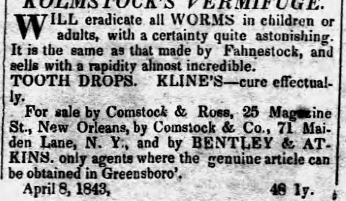 PATRON – Political parties were organized in Greensboro, Alabama in May 1843