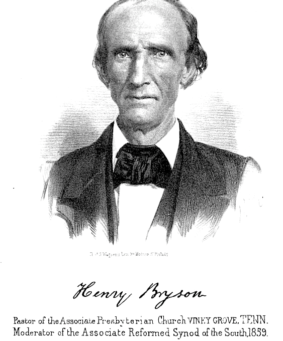 1826 Frontier Evangelist, Henry Bryson – Part V