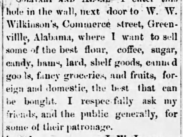 PATRON – A fire in Greenville in 1878 destroyed many businesses and other local news