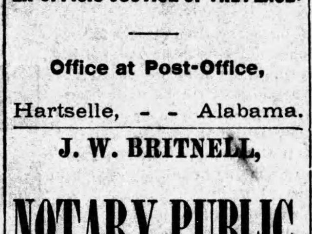 PATRON – Alabama News of three female notary publics, 8th in class at West Point, and death of Greenville mayor 1887