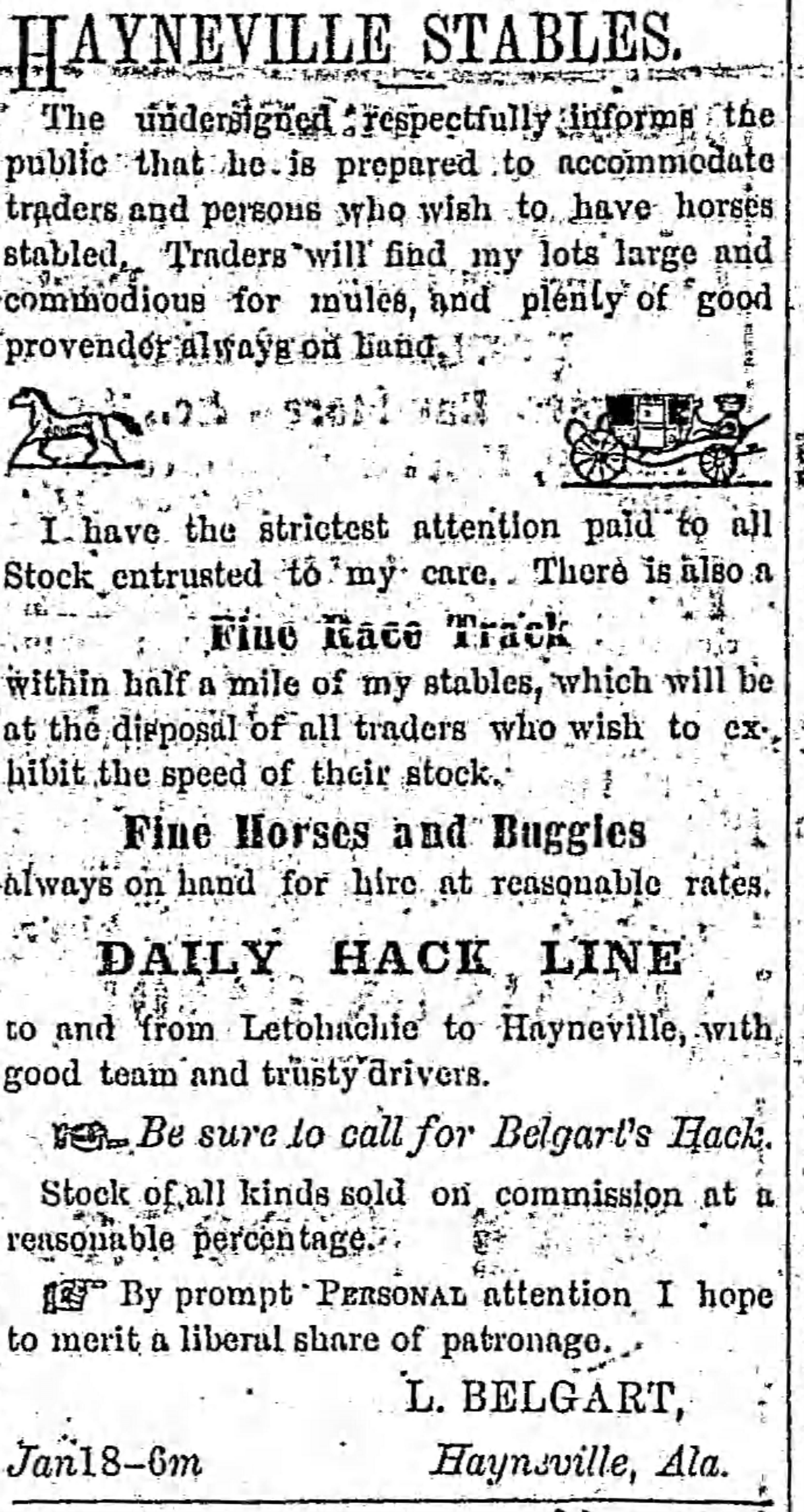PATRON – Estate Settlements & Sheriff's sales May 31, 1871 around Hayneville, Alabama