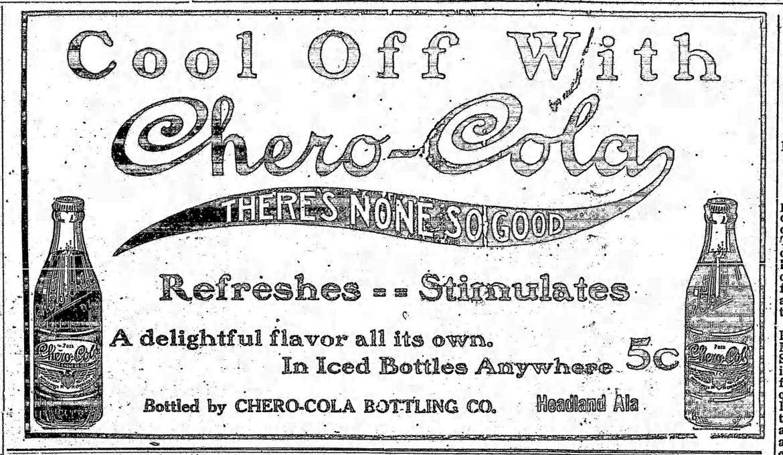 PATRON – Local names & politics in news in Headland, Alabama June 11, 1914