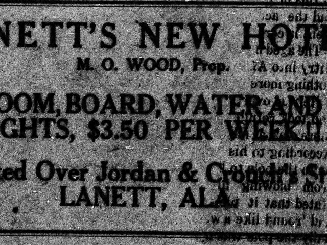 PATRON – Winner of Church of Christ Contest, marriages and more local news from Lanett in 1916