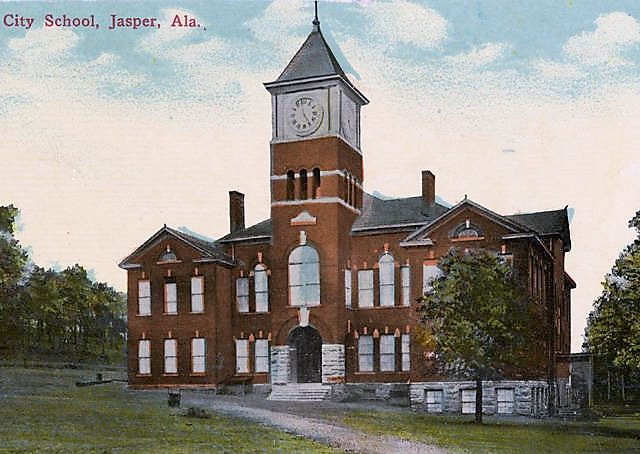 PATRON + The new Jasper Academy in Walker County, Alabama was  large and commodious in 1886