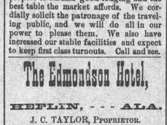 PATRON – Farm for sale in Cleburne and arrivals at Summit House hotel in March, 1891