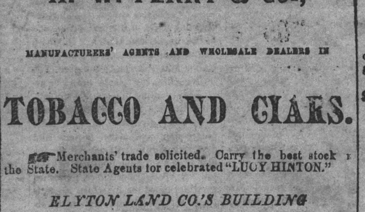 PATRON – Bachelors chasing after Miss Clay and Notices of homesteads from 1886 newspaper