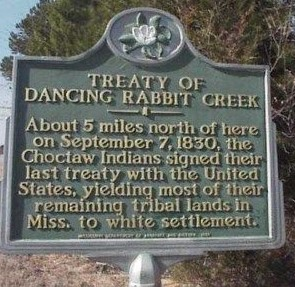 PATRON+ Choctaw & Treaty Of Dancing Rabbit Creek