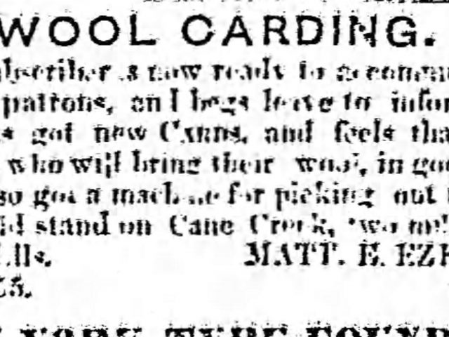 PATRON – School-age children census, Militia drill, & new -Newspapers in Jacksonville, Alabama 1855