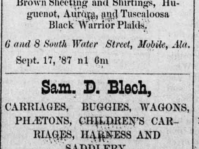 PATRON – Prisoner escapes from a lynching, Walker Springs local news and more from South Alabama, 1887