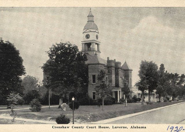 Patron – News from Dozier and Democratic Meeting members in 1908 Crenshaw County
