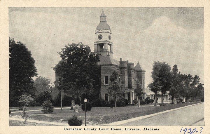 PATRON – Alabama Governor's daughter marries a Canadian, Candidates & other local Crenshaw County news in 1908