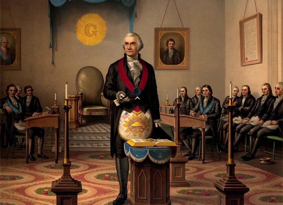 PATRON+Massachusetts Freemasons offer to Southern Freemasons in 1865