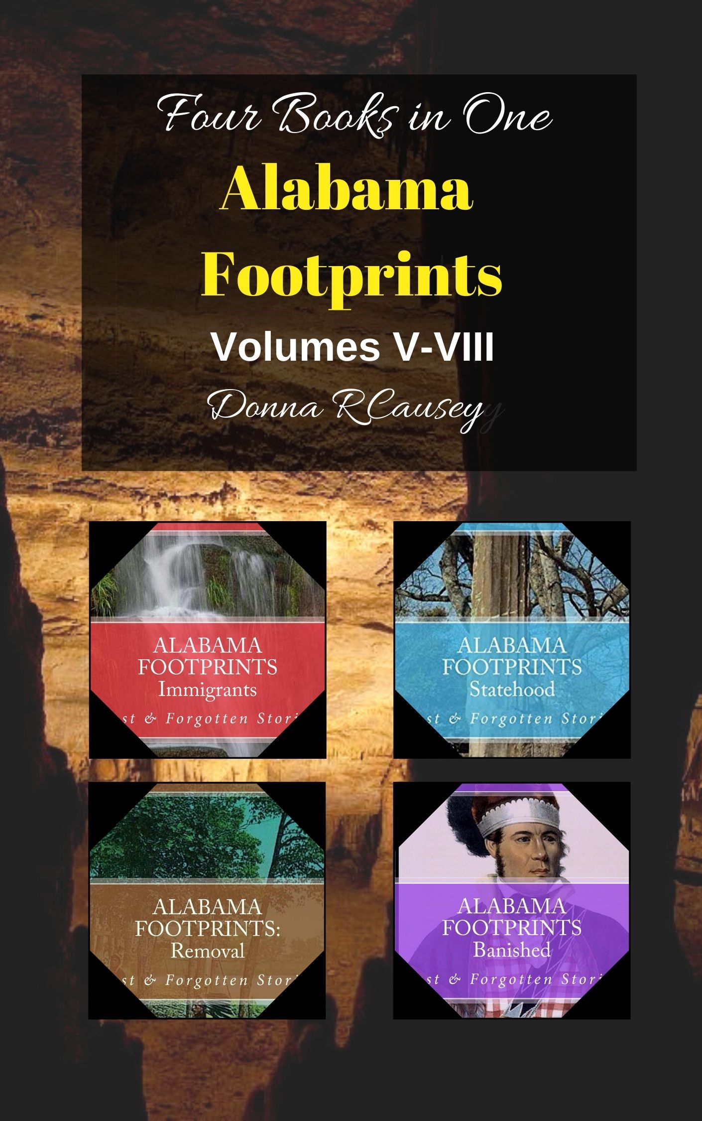UPDATE: Alabama Footprints Series Volumes 1-VIII - now combined in two books!