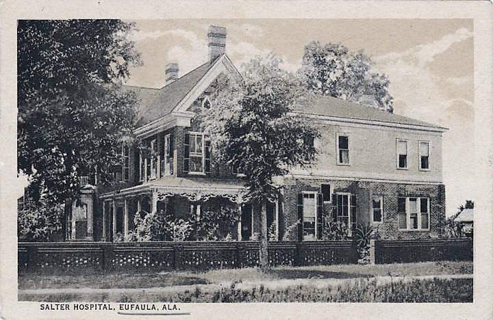 PATRON + Life history of Doctor P. P. Salter of Eufaula, Alabama