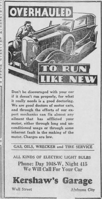 PATRON – Personal News in Alabama City, Alabama 1932