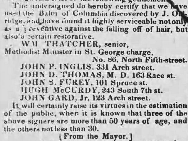 PATRON – Legal notices for Squire, Talcott, Worsham, Toulmin, Deas and others from 1840 Mobile, Alabama