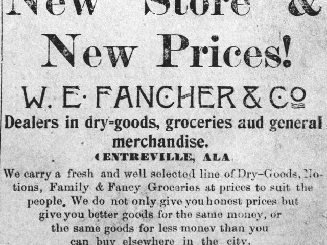 PATRON + First White Settlers in River Bend, Bibb County, Alabama, the Pratts  & Fletchers