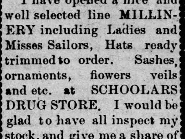PATRON – Non-resident notice, guardian sale & Adm. Sale April 1900 Bibb County
