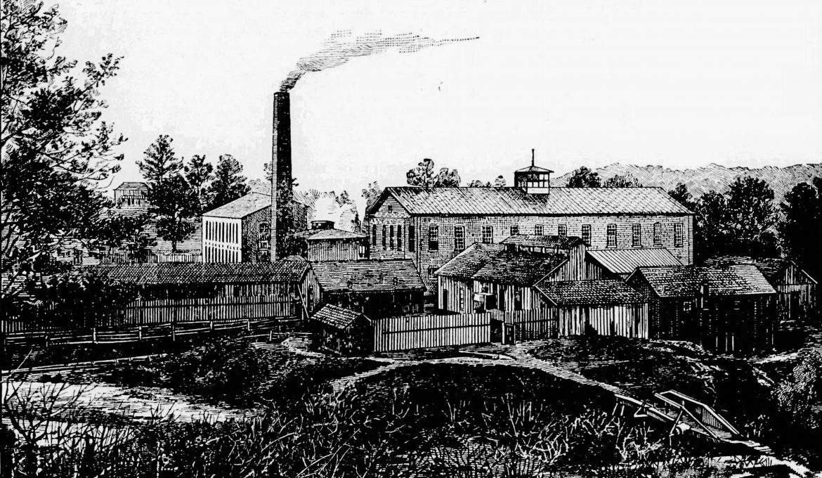 PATRON + Tuscaloosa had a booming cottonseed industry in Tuscaloosa in 1899