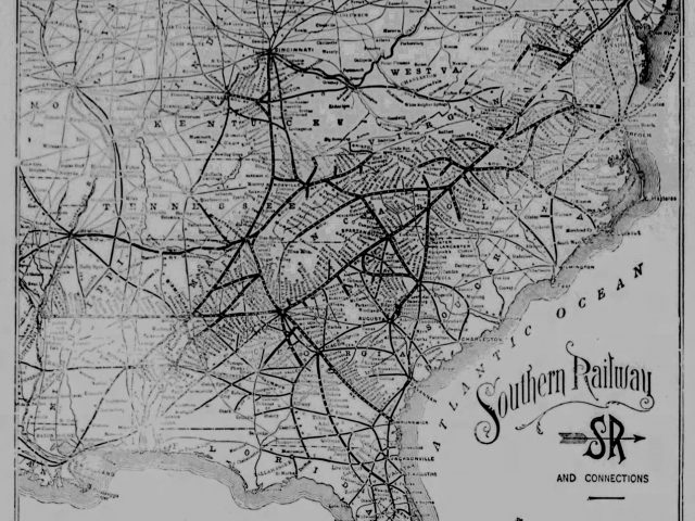 PATRON + Part I Alabama Great Southern Railroad – Southern Railway brought settlers, industrialists & farmers to the South