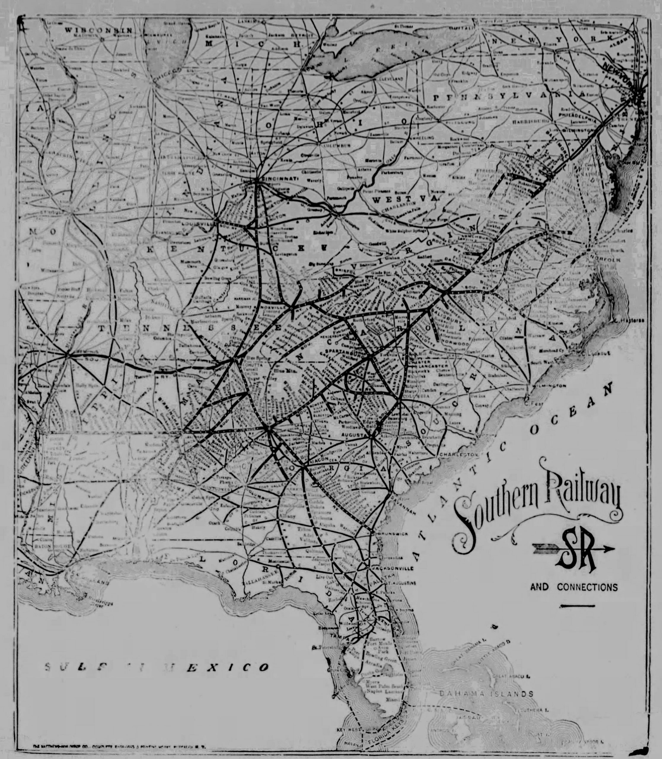 Part III Alabama Great Southern Railroad – Alabama was the leading mineral state of the South in 1899