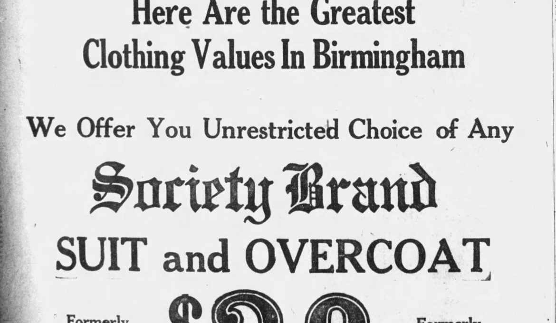 PATRON – Society news and deaths around Birmingham, Alabama December 1923