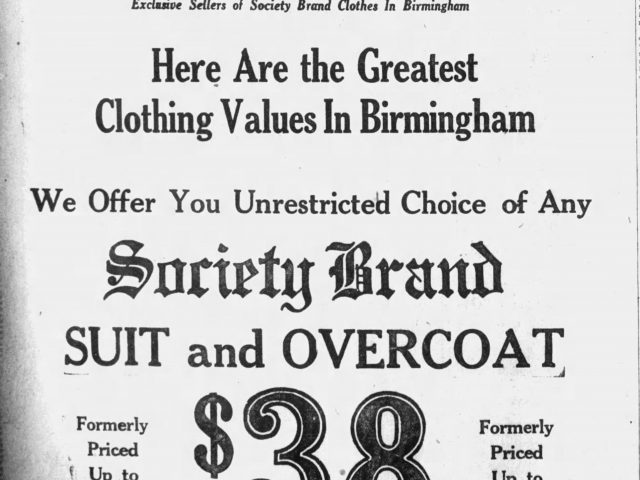 PATRON – Society news and deaths around Birmingham, Alabama December 1923