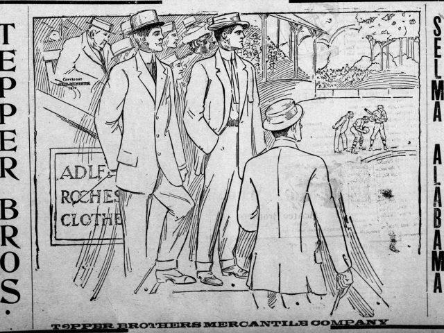 PATRON – Local people in news from Lower Peach Tree & Fatama, Alabama 1910
